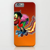 iPhone & iPod Case featuring RollerFink by Andrew Mark Hunter
