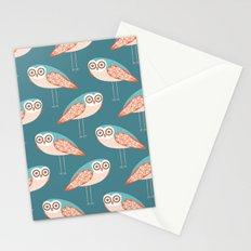 Long Legged Owl Stationery Cards