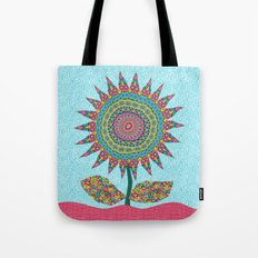 Fabby Flower-Eden colors Tote Bag