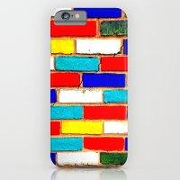 Vibrant Brick iPhone 6 Slim Case