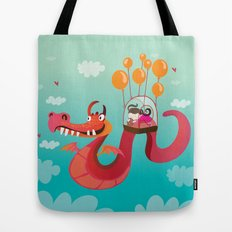 Dragona Tote Bag