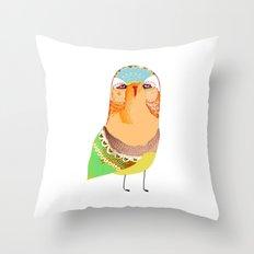 The Rarest Owl Throw Pillow