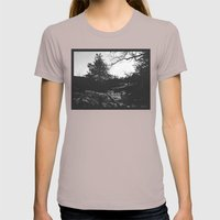 There's Even Shadows On … Womens Fitted Tee Cinder SMALL