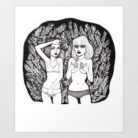 C-Life Art Print