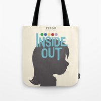 Inside Out - Minimal Movie Poster Tote Bag