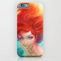 iPhone & iPod Case featuring Under The Sea by Artgerm™