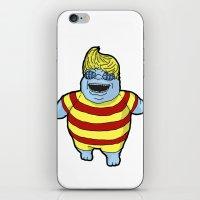 Corpse Lucas iPhone & iPod Skin
