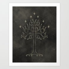 Lord of the Rings: Tree of Gondor Art Print