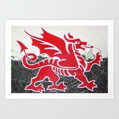 Cymru Art Print