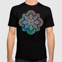Boho Intense Mens Fitted Tee Black SMALL