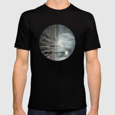 Destination Anywhere Mens Fitted Tee Black SMALL