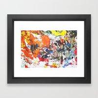 Desen Framed Art Print