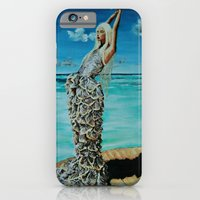 iPhone & iPod Case featuring THE MCQUEEN MERMAID by Maud Villers