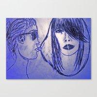 UK dream girl Canvas Print