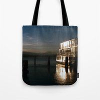 film burlington reflection Tote Bag