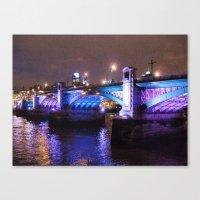Southwark Bridge Canvas Print