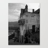 The Old Part Of Town Canvas Print