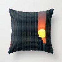 In & Between Throw Pillow