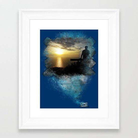 Divine Capture Framed Art Print