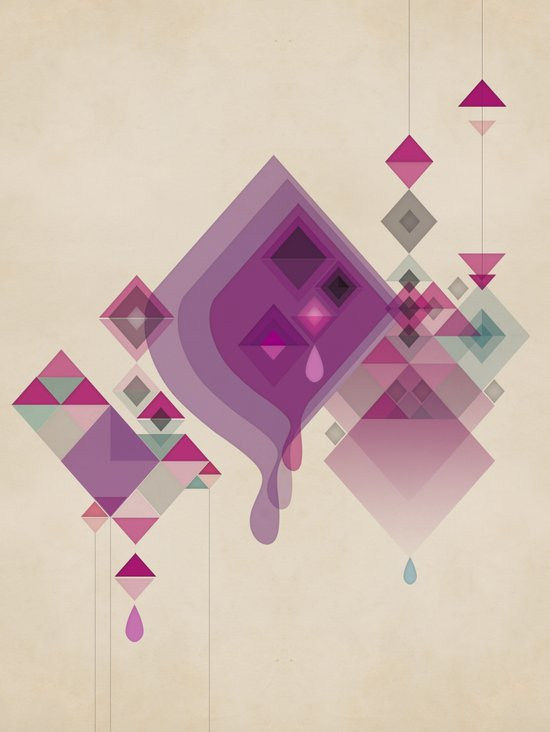 Abstract illustrations Art Print