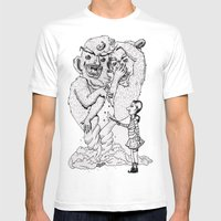 Box-O-Trolls Mens Fitted Tee White SMALL