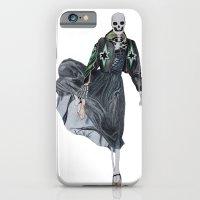 Leather & Ballet Skeleto… iPhone 6 Slim Case