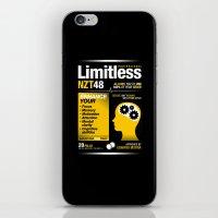 Limitless NZT 48 Pill Exist! Bradley Cooper / Robert De Niro iPhone & iPod Skin