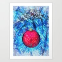 Xmas Decoration  Art Print