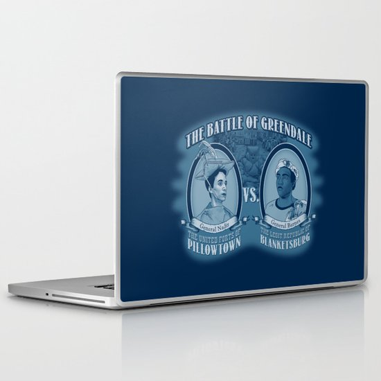 Pillowtown vs Blanketsburg Laptop & iPad Skin