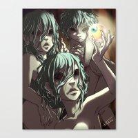 The Graeae Canvas Print