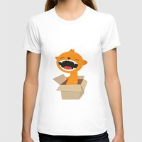 Surprise Womens Fitted Tee White SMALL