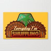 Everyday I'm Shuffling  |  Magic The Gathering Canvas Print