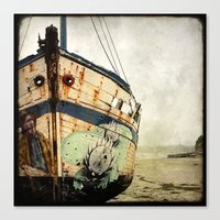 Boat Wreck #1 Canvas Print