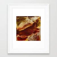 Inferno Framed Art Print