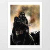 Le Dernier Survivant / T… Art Print