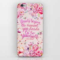 be yourself.  iPhone & iPod Skin