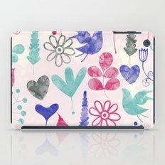 Watercolor Botanical Garden V iPad Case