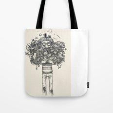 My beard... an amazing thing Tote Bag