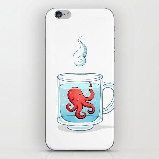 Octopus Tea iPhone & iPod Skin