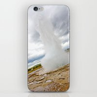 Geyser iPhone & iPod Skin