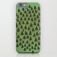 iPhone & iPod Case featuring Minty Forest by Ellie And Ada