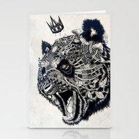 panda Stationery Cards featuring Panda by Feline Zegers