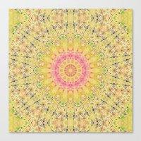 Meadow A Maise Mandala Canvas Print