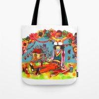 Hideaway Love Tote Bag