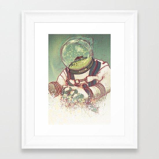 Memories Of Home Framed Art Print