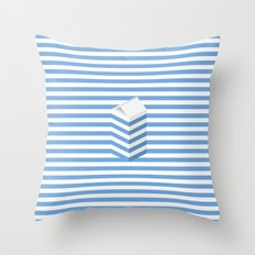 SPLIT MILK Throw Pillow