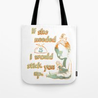 Stick Up Love Tote Bag