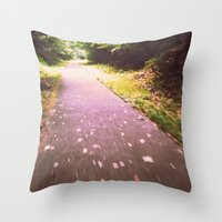 Wishing for Wings Throw Pillow