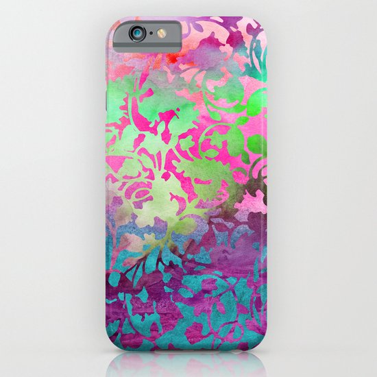 Earth Watercolor by Jacqueline Maldonado & Garima Dhawan iPhone & iPod Case