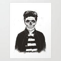 Death Fashion Art Print